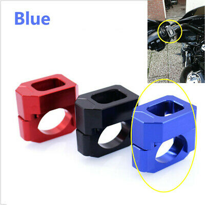 Blue Universal Motorcycle ATV Gear Display Speed Indicator Gauge Mount Holder
