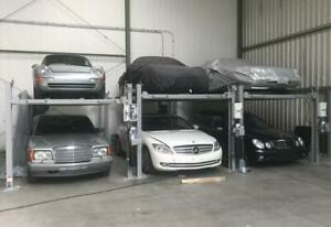 Brand New 8000 Lbs. 4 Post Car Parking Lift -Designed in Germany Canada Preview
