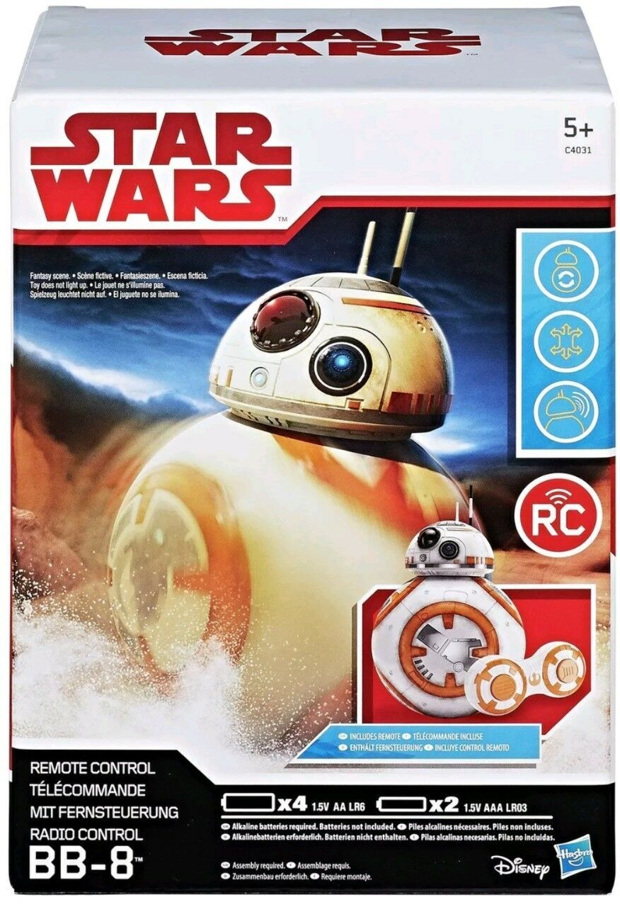 Star Wars: The Force Awakens RC BB-8 5+ Years