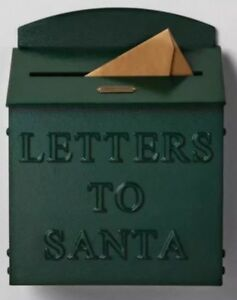 Letters-To-Santa-MAILBOX-Hearth-and-Hand-Target-Home-with-Magnolia-GREEN-New
