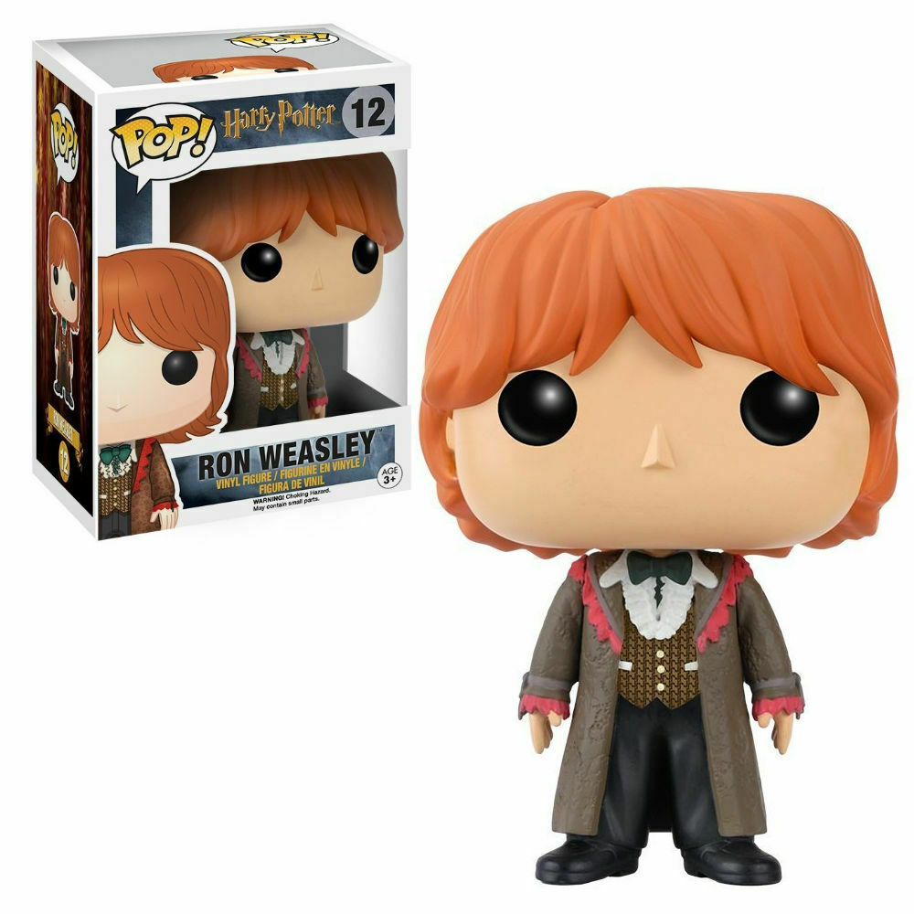 Funko POP originale HARRY POTTER n° 12 RON WEASLEY al BALLO DEL CEPPO