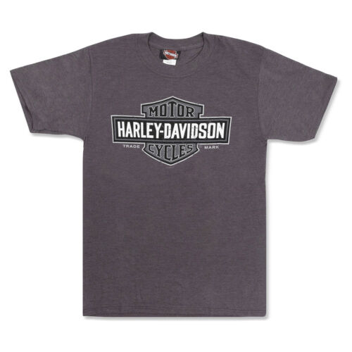 Harley-Davidson T-Shirt Biker Short Sleeve Men Tel Aviv Israel Gray Tel-Aviv