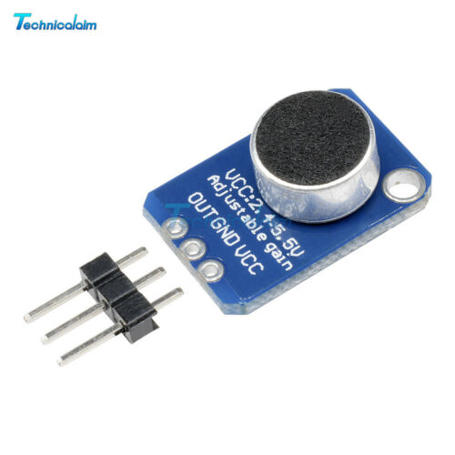 Electret Microphone Amplifier MAX4466 With Adjustable Gain For Arduino