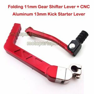 CNC-Kick-Start-Gear-Shift-Lever-For-50-90-110-125-cc-Chinese-CRF50-Pit-Dirt-Bike