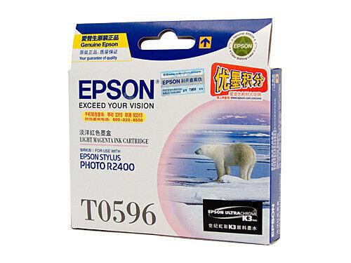 Epson T0596 UltraChrome K3 Light Magenta Ink Cartridge C13T059690 STYLUS R2400