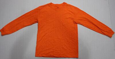Fruit of the Loom Children/'s 65//35 Manga Longa Polo Camiseta Casual Camiseta Plain Top