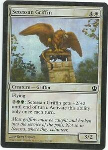Setessan Griffin Magic The Gathering Theros Card Light Play X1