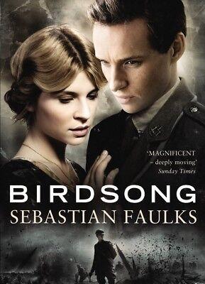 Birdsong by Sebastian Faulks (2012, Paperback, Movie Tie-In) Int'l Bestseller