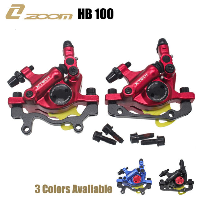 New Disc Brakes Hydraulic Calipers Mountain MTB bike Front Rear Mechanical pull