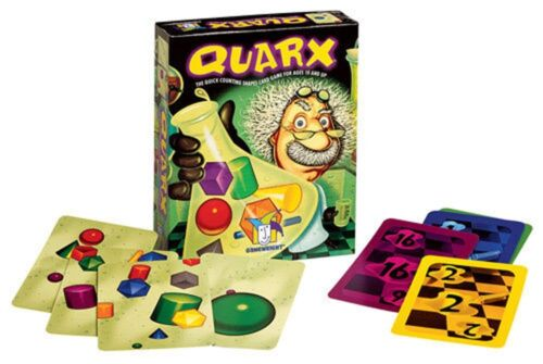 A5PL# Quarx The Quick Counting Shapes Children/'s Kid/'s Card Game BNIB