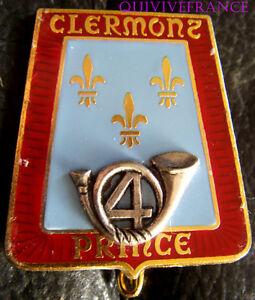 IN6108-INSIGNE-4-Regiment-de-Chasseurs-Clermont-Prince-epingle-sertie