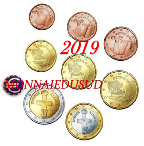 Serie-1-Cent-a-2-Euro-Chypre-2019-Serie-UNC