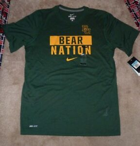 e9ea27163765 NEW NIKE Baylor Bears Statement T Shirt - Bears Nation - Dri Fit Men ...