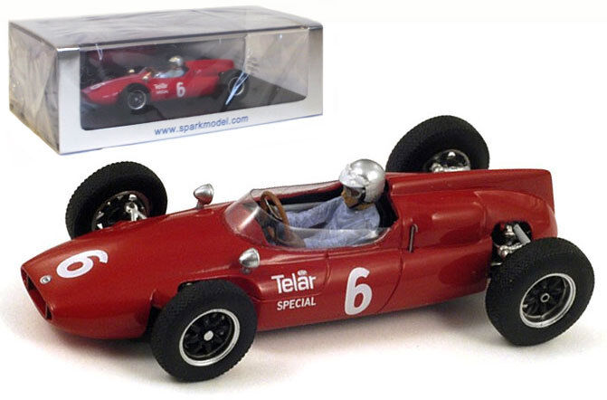 SPARK S3512 COOPER T53   6 USA GP 1961-ROGER PENSKE scala 1/43