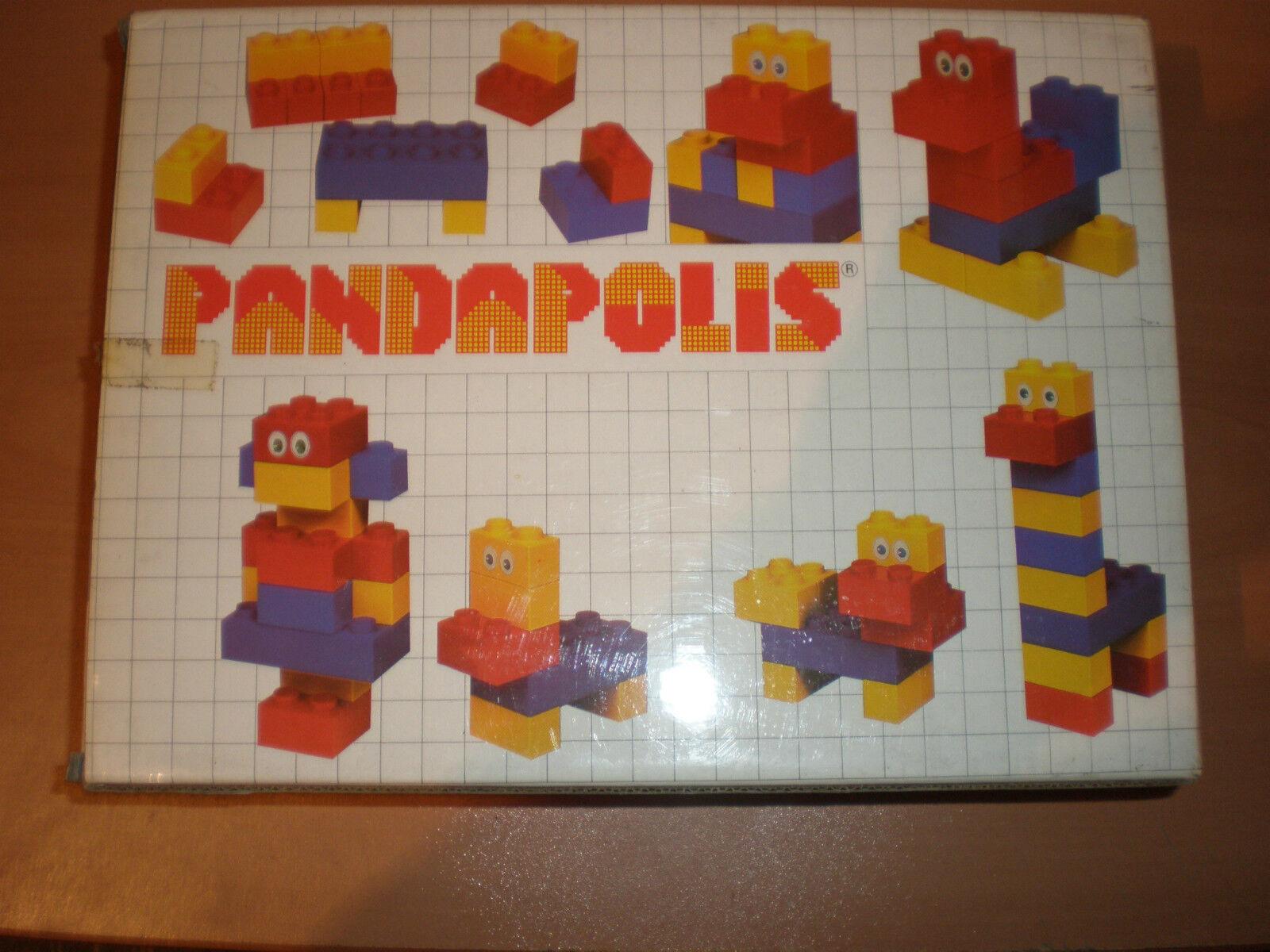 80'S VINTAGE GREEK ITALOCREMONA LEGO PANDA PANDAPOLIS MIB