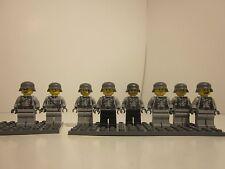 Lego WWII Custom German Soldiers (Light Grey)