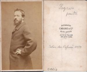 Carjat-Paris-Narcisse-Alphonse-Legros-peintre-Vintage-albumen-print-CDV-Al