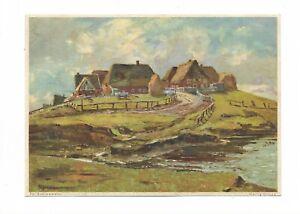 AK-Kuenstlerkarte-von-Ed-Schloemann-034-Hallig-Groede-034-Schleswig-Holstein