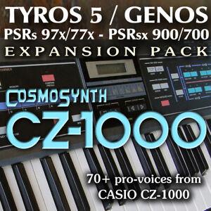 CASIO-CZ1000-Expansion-Pack-for-Yamaha-Genos-Tyros-5-PSR-97x-sx900-etc