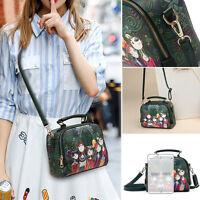 Women PU Leather Tote Purse Handbag Crossbody Satchel Shoulder Messenger Bag NEW
