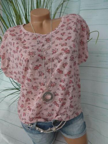 851 Bluse Shirt Damen Tunika Linea Tesini Gr NEU 34 bis 36 mit Schal