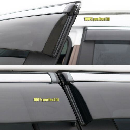 Car Window Vent Visor Deflector Shade Sun//Rain Guards for Ford Edge 2011-2014