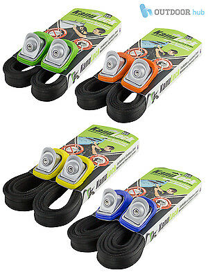 Kanulock Lockable Car Tie Down Straps For Sit On Top Kayak Canoe Surfboard SUP