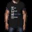 Nouveauté Tshirts Hommes Drôle Noël shirt Slogan table tennis shirt Top Qualité