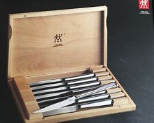 Zwilling Henckels Stainless 8 Pc Steak Knife Set in Presentation Box 39130-850