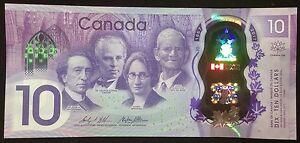 Banknote-2017-Canada-150th-Anniversary-Commemorative-10-Dollar-Polymer-UNC