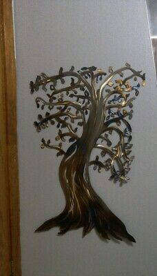 Metal Wall Tree Art sculpture for Indoor or Outdoor Hanging Accent by Master Cut