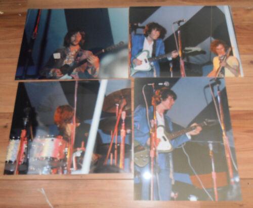 4 Original photos 11 x14 glossy BLIND FAITH ERIC CLAPTON WINWOOD BAKER GRETCH