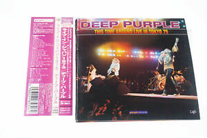 DEEP PURPLE THIS TIME AROUND LIVE IN TOKYO 75 2CD JAPAN OBI A12351