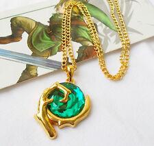 The Legend Of Zelda Green Stone Necklace Pendant