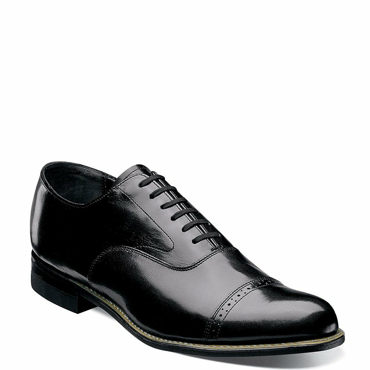 Stacy Adams CONCORDE 11003 01 Black Patent Leather Cap Toe Oxford Lace Up shoes