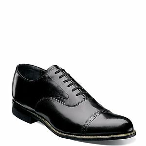 Image is loading Stacy-Adams-CONCORDE-11003-01-Black-Patent-Leather-
