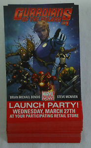 Dealer-039-s-Lot-49-comic-promo-cards-2013-Marvel-GUARDIANS-OF-THE-GALAXY-1-Launch