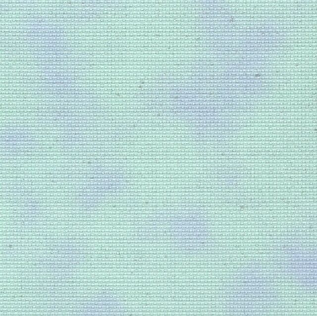 Fabric Flair Cloud Blue/Green with sparkles 16 count Aida, 45 x 50cm piece