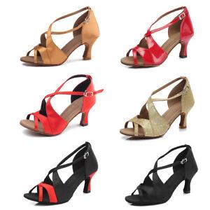 Women-Satin-Dance-Shoes-Latin-Ballroom-Shoes-Women-High-Heel-Girls-Dance-Shoes