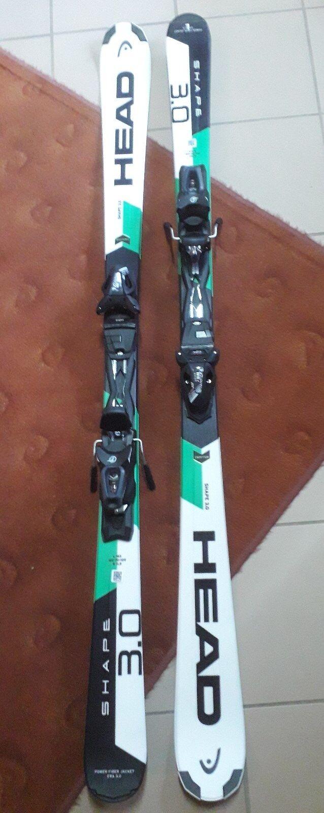 921223 NEU Unisex Ski HEAD Set Shape 3.0 R PR+PR 10 Promo
