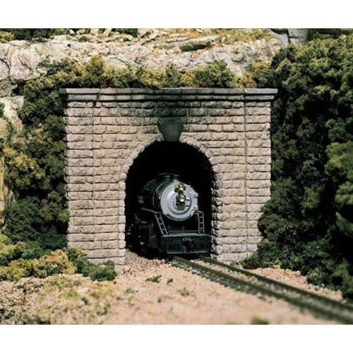 Woodland 1253 Cut Stone Single Track//Tunnel Portal NIB HO-Scale