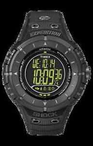 Timex-Expedition-Compass-Watch-Indiglo-Shock-Resistant-Date-Resin-T49928
