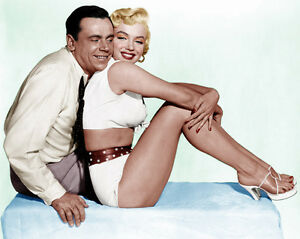 1955-039-The-Seven-Year-Itch-039-MARILYN-MONROE-amp-TOM-EWELL-8x10-Photo-Photography