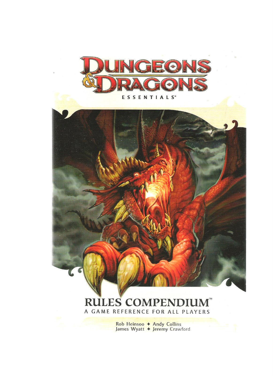 WOTC D&D 4E HEROES OF FALLEN LANDS DUNGEONS & DRAGONS RPG VGC SB