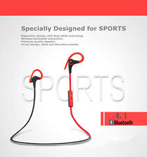 Bluetooth Sweatproof Sports Stereo Earphone Headphone Earbuds for iPhone iPod LG
