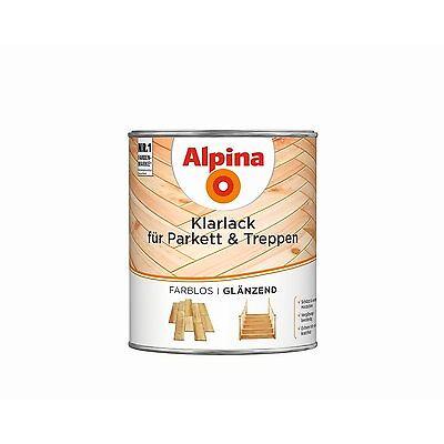 Alpina Klarlack für Parkett & Treppen - strapazierfähiger Lack zum Versiegeln