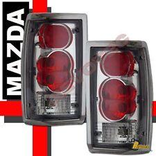 86-93 Mazda B2000 B2200 B2600 Pickup Chrome Tail Lights Lamps 1 Pair 87 88 89 90