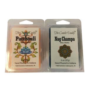 Nag-Champa-Patchouli-Pair-Combo-Incense-Wax-Melts-Tarts-tart-oil-warmer-NEW