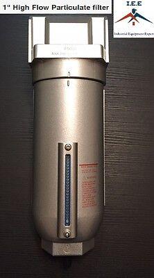 "3/4"" Inline Air Compressor Water Moisture Filter Trap Separator Auto Drain"