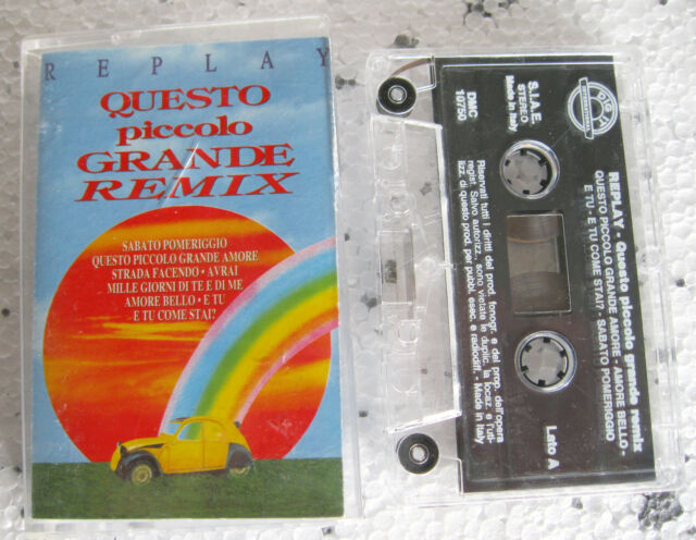 Replay QUESTO PICCOLO GRANDE REMIX - MC TAPE ORIGINALE DIG IT - DMC 10750